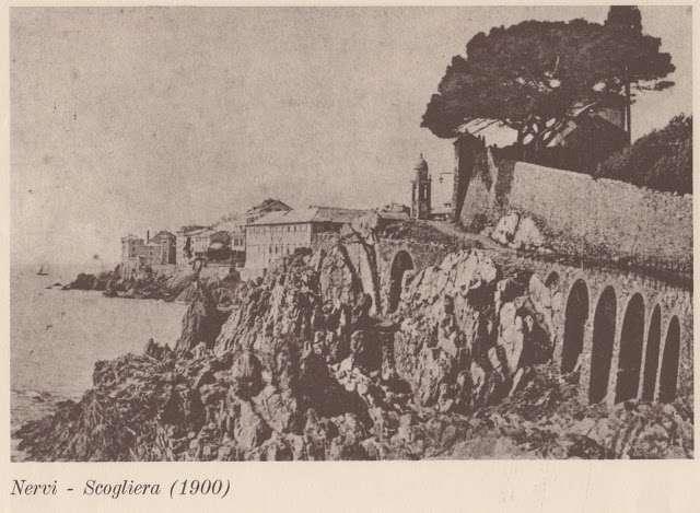 Nervi Storica - Scogliera 1900