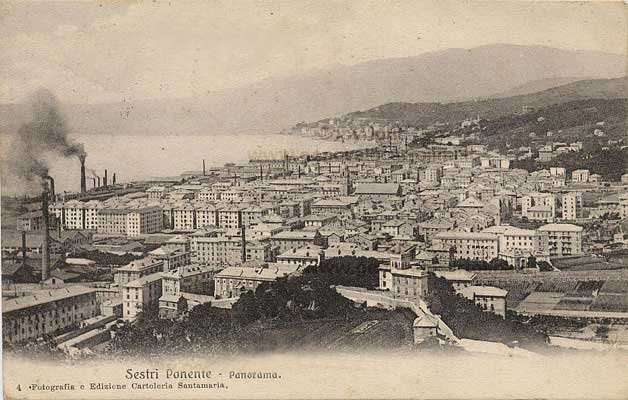 Sestri Ponente Storica - Panorama