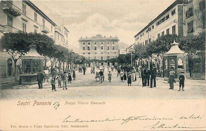 Sestri Ponente Storica - Piazza Vittorio Emanuele